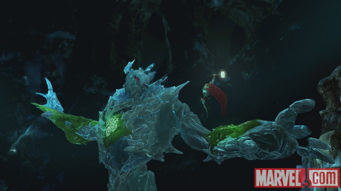 Thor: God of Thunder screenshot - Thor vs. Frost Giants