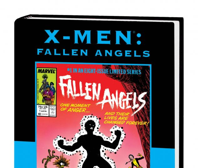 X-MEN: FALLEN ANGELS PREMIERE HC DM variant cover