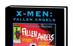 X-MEN: FALLEN ANGELS PREMIERE HC DM variant cover