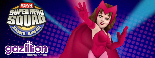 Super Hero Squad Online: Meet the Scarlet Witch