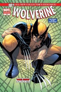Wolverine (2010) #18 (Mc 50th Anniversary Variant)