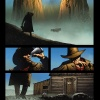 The Dark Tower: The Gunslinger - The Way Station #1 preview art by Laurence Campbell
