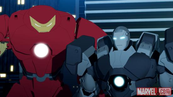 Screenshot from Iron Man: Armored Adventures Season 2, Ep. 22