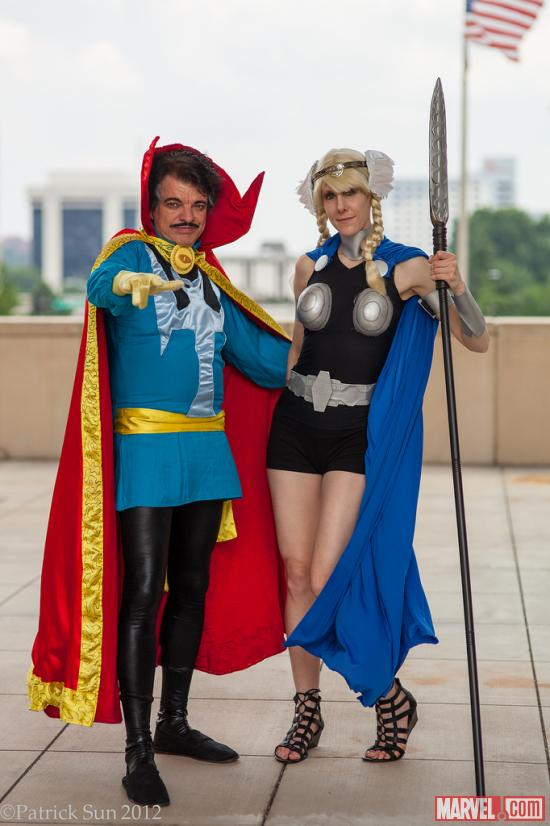Marvel Cosplay: Photos from HeroesCon