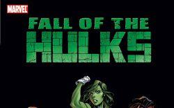 HULK: FALL OF THE HULKS: THE SAVAGE SHE-HULKS (TRADE PAPERBACK) - cover art 2