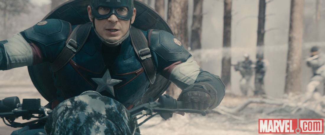 Captain America in Age of Ultron