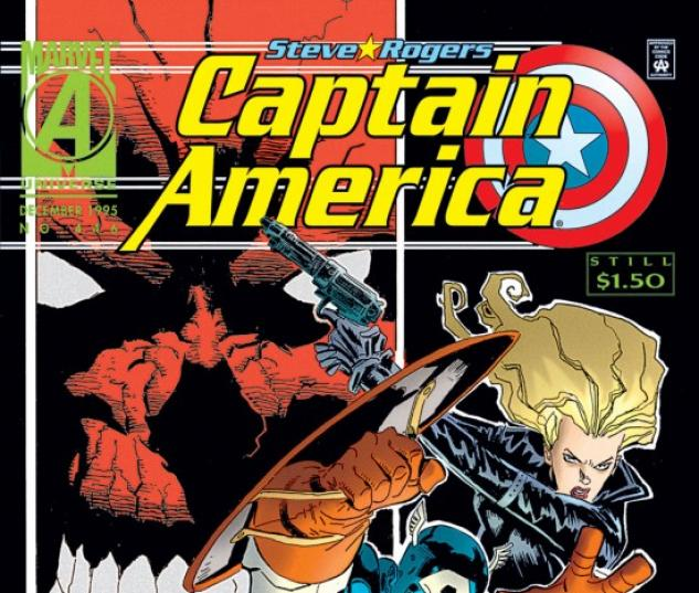 CAPTAIN AMERICA #446 COVER