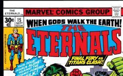 ETERNALS (2009) #15 COVER