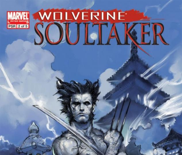 WOLVERINE: SOULTAKER (2006) #2 COVER
