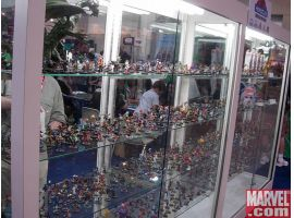 Massive Heroclix Display
