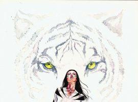 White Tiger #1 cover