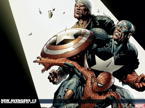 New Avengers (2004) #2 Wallpaper