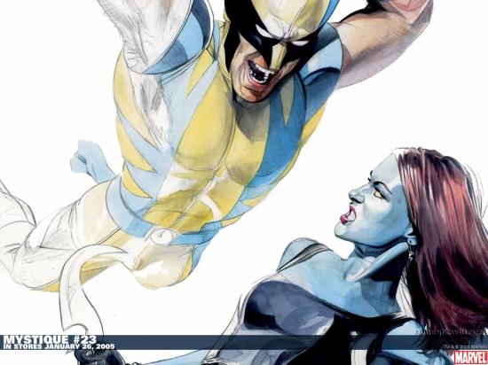 Mystique (2003) #23 Wallpaper