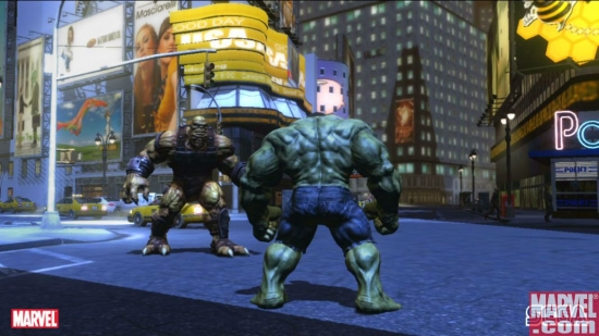 Hulk preps for battle