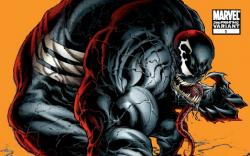 Venom (2011) #1 third printing variant cover by Joe Quesada