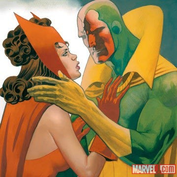 The Scarlet Witch & The Vision