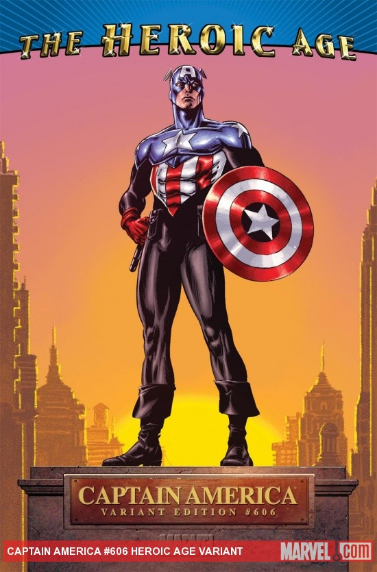 Captain America (2004) #606, HEROIC AGE VARIANT