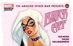 Amazing Spider-Man Presents: Black Cat (2010) #1, VARIANT