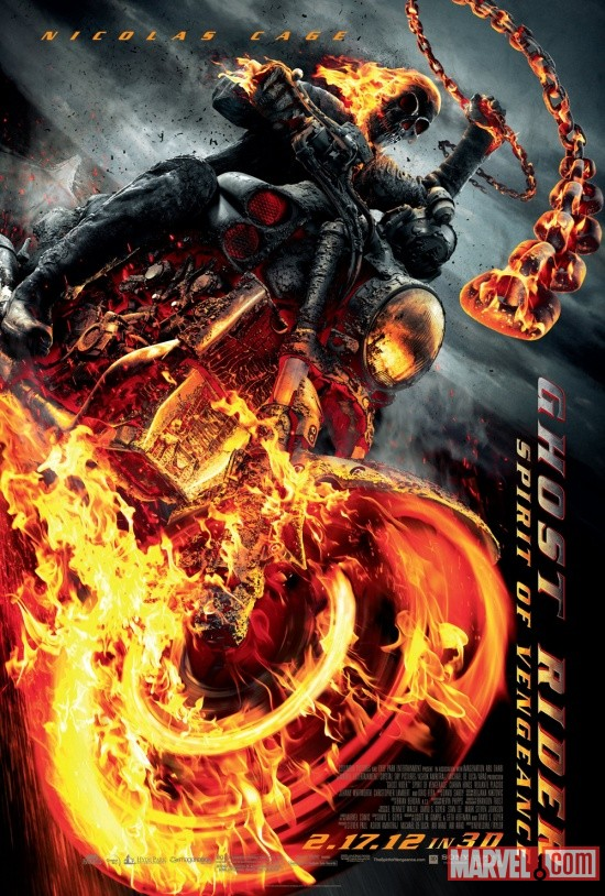Ghost Rider: Spirit of Vengeance one-sheet poster