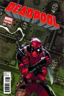 Deadpool #5  (Camuncoli Variant)
