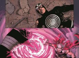 Uncanny Avengers #4 preview art by John Cassaday