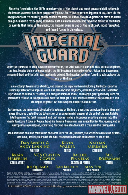 Realm of Kings: Imperial Guard (2009) #2