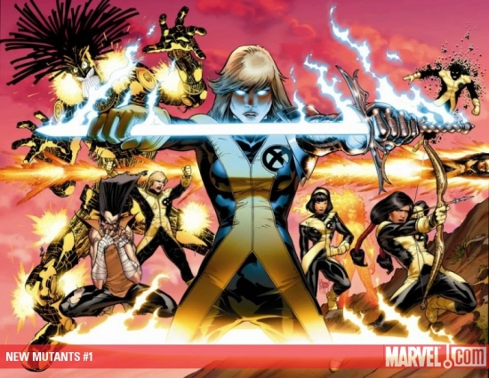 NEW MUTANTS #1