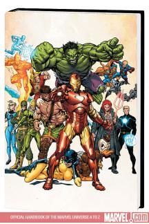Official Handbook of the Marvel Universe a to Z Vol. 5 Premiere (Hardcover)