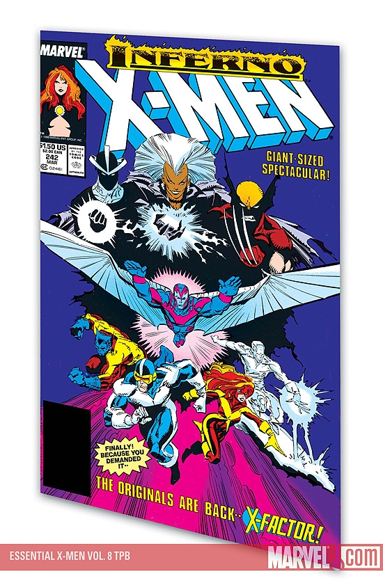 ESSENTIAL X-MEN VOL. 8 #0