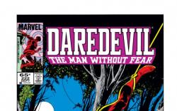 DAREDEVIL #222 COVER