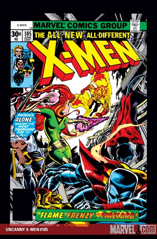 Uncanny X-Men (1963) #105