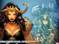 Siege: Storming Asgard - Heroes &amp;amp; Villains (2009) #1 Wallpaper