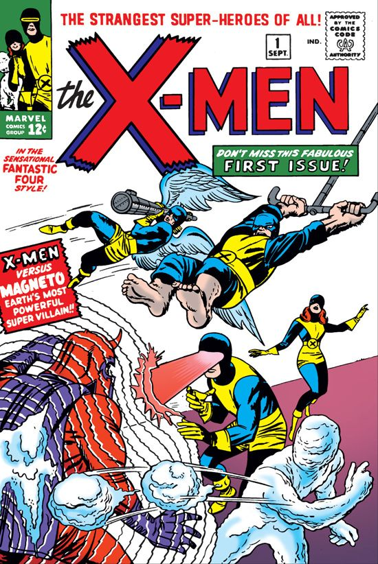 xmen series comic book cover
