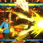 Screenshot of Doctor Strange vs. Nemesis from Ultimate Marvel vs. Capcom 3