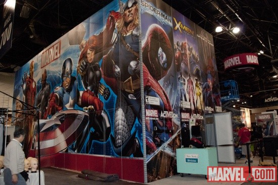 New York Comic Con 2011: Marvel Booth