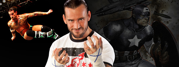 Fightin' Fanboys: WWE Champion C.M. Punk