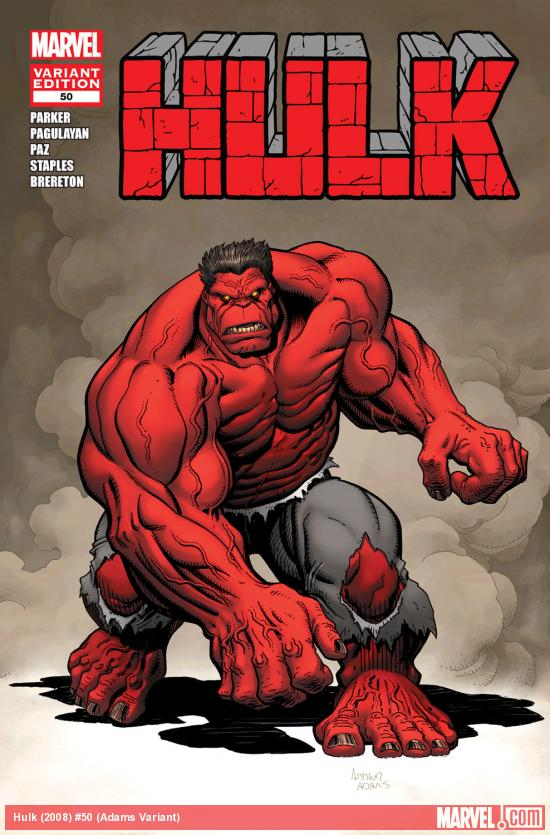 Hulk (2008) #50 (Adams Variant)