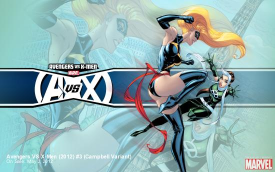 Avengers VS X-Men (2012) #3 Campbell Variant