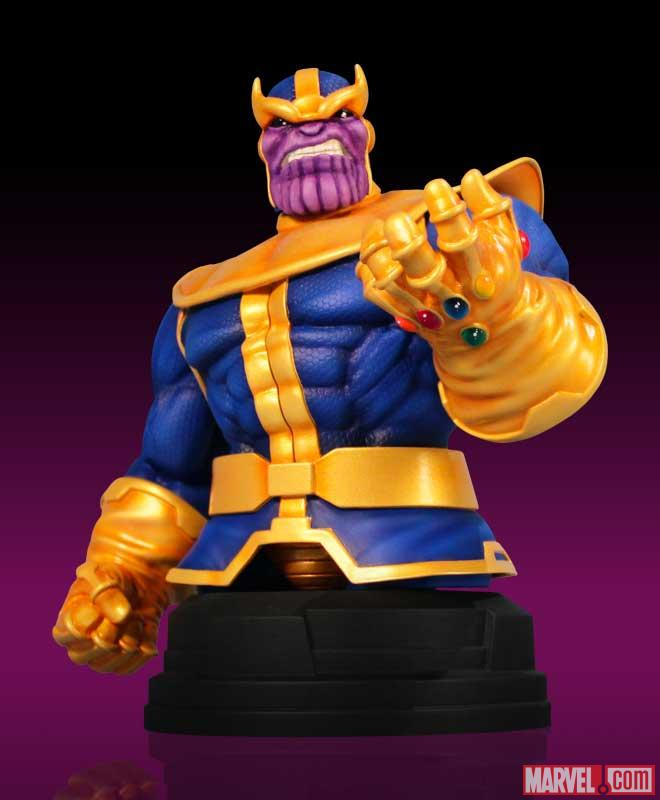 Thanos Mini Bust from Gentle Giant