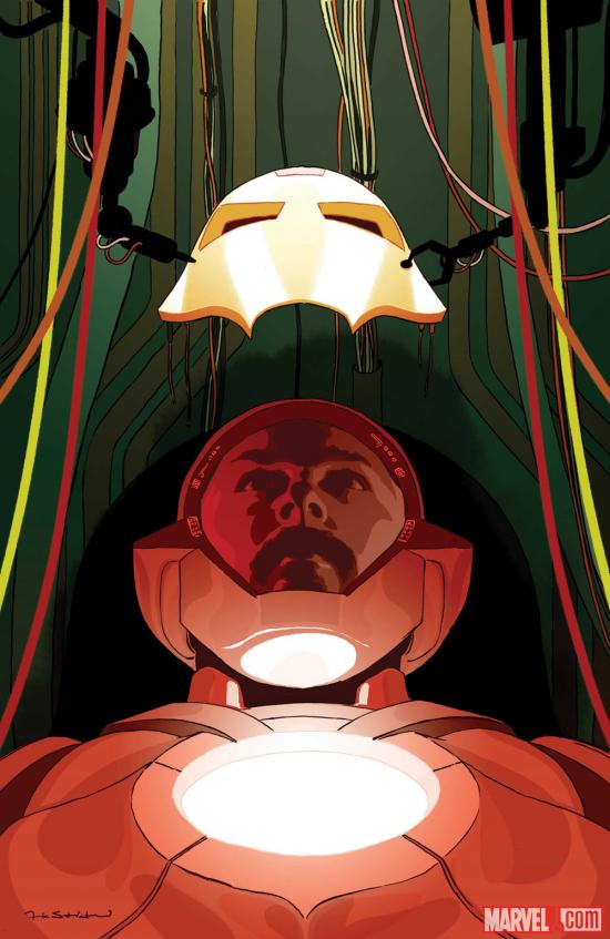 Ultimate Comics Iron Man #1 cover