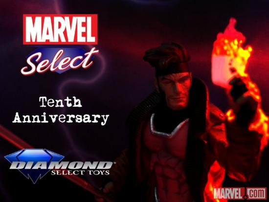 Marvel Select 10th Anniversary Gambit Contest Image