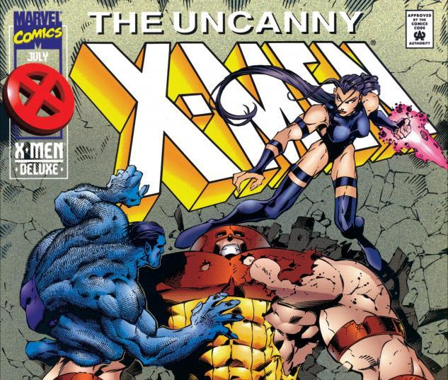 Uncanny X-Men (1963) #322 Cover