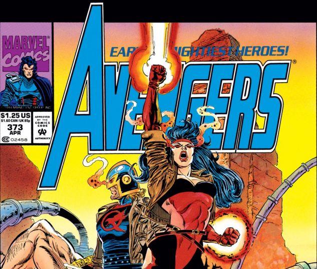 Avengers (1963) #373 Cover