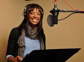 Aisha Tyler recording Archer Vice