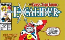 EXCALIBUR (2009) #17 COVER