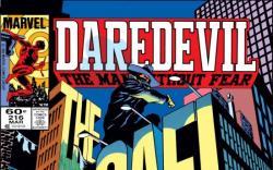DAREDEVIL #216 COVER