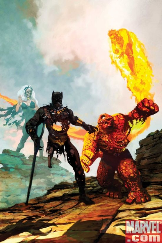 Black Panther and Marvel Zombies