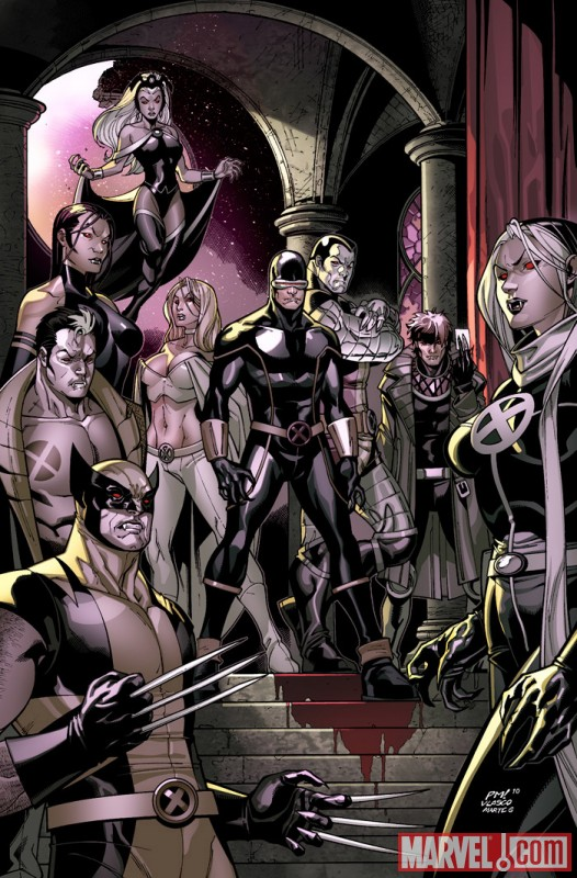 Image Featuring Psylocke, Rogue, Storm, Wolverine, X-Man, X-Men, Colossus, Cyclops, Emma Frost