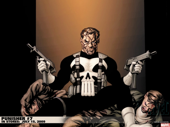 Punisher (2001) #7 Wallpaper