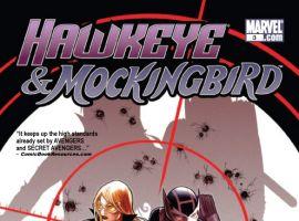 HAWKEYE & MOCKINGBIRD #3 cover by Paul Renaud